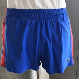 Tory Burch Sport Colorblocked Boxing Shorts